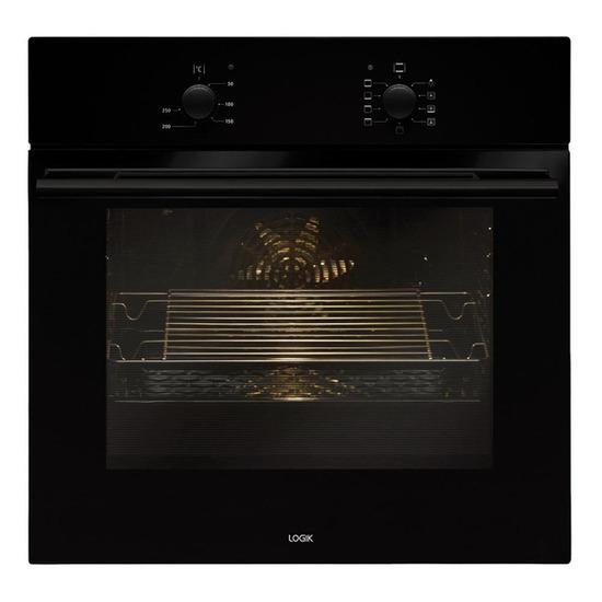 Logik LBFANB14 Electric Oven - Black