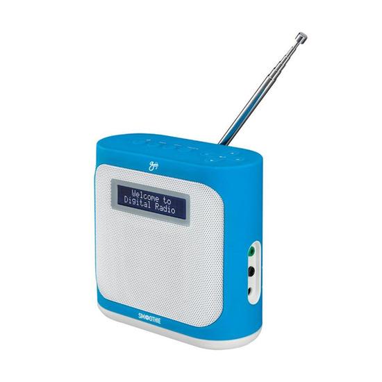 Smoothie GDABN14 Portable DAB+ Radio - Blue
