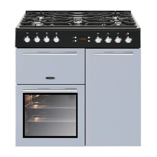 Leisure AL90F230B Dual Fuel Range Cooker - Blue
