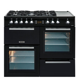 Leisure AL100F210K Dual Fuel Range Cooker - Black & Chrome Reviews