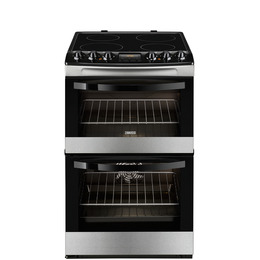 Zanussi ZCV46330XA Electric Ceramic Cooker - Stainless Steel Reviews