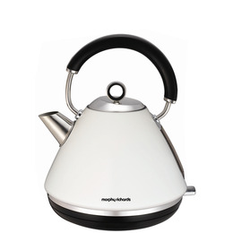 Morphy Richards Accents 102005 Traditional Kettle - White Reviews