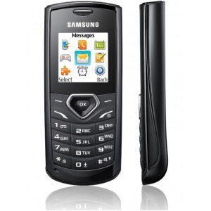 Photo of Samsung E1170 Black Mobile Phone