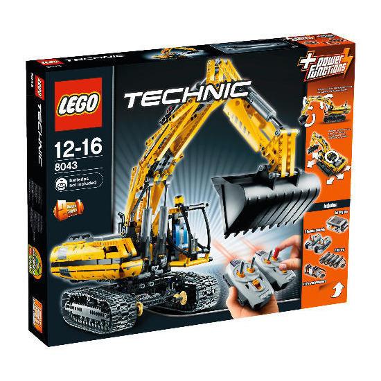 Lego Motorized Excavator 8043