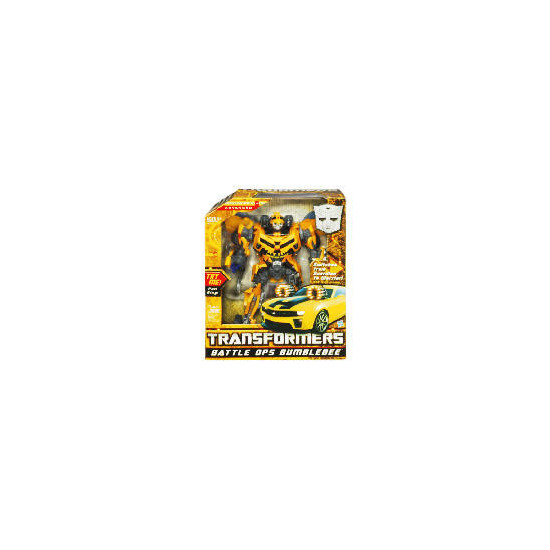 Transformers Cyber Ops Bumblebee