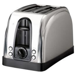 Sainsbury's Stainless Steel 2 Slice Toaster