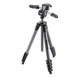 Manfrotto COMPACT ADVANCED WITH 3-WAY HEAD BLACK Reviews