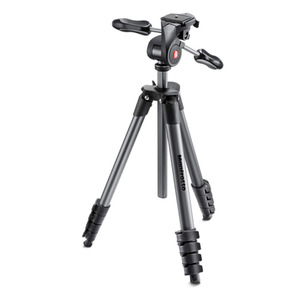 Photo of Manfrotto COMPACT ADVANCED WITH 3-WAY HEAD BLACK Tripod