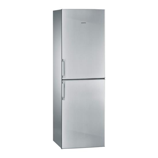 Bosch KGN34NVI20G Fridge Freezer - Stainless Steel