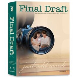 Final Draft 8.0 International Software