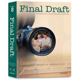 Final Draft 8.0 International Software