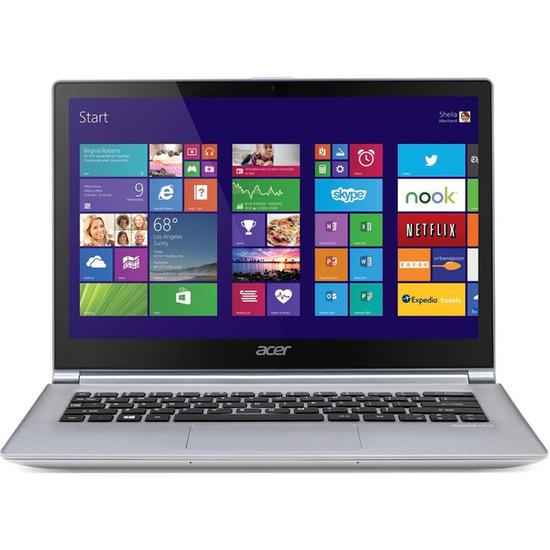 "Acer Aspire S3-392 13.3"" Touchscreen Laptop - White"