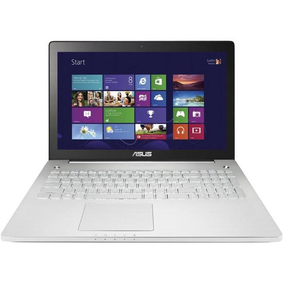 """N550JK 15.6"""" Touchscreen Laptop - Silver"""