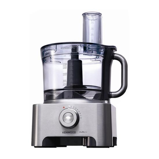 Multipro Sense FPM800 Food Processor - Silver