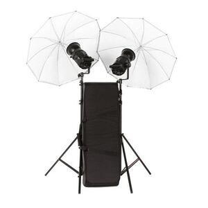 Photo of Bowens Gemini 400RX Twin Head Umbrella Kit Studio Kit