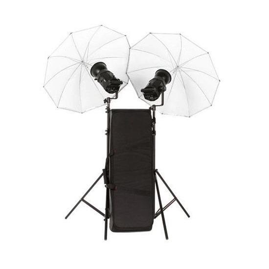 Bowens Gemini 400RX Twin Head Umbrella Kit