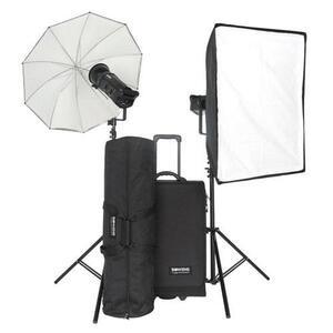 Photo of Bowens Gemini 500 Pro Pulsar TX Twin Head Kit Studio Kit