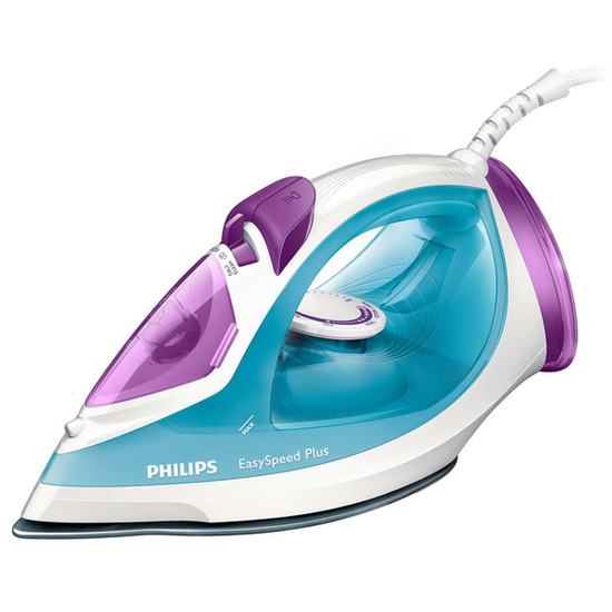 Philips EasySpeed Plus GC2045/26 Steam Iron - Blue & Purple
