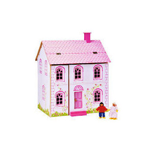 Photo of Little Steps Wooden Doll's House Toy