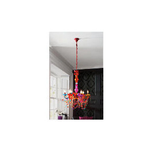 Photo of Tesco Marie Therese Chandelier Multi-Colour Lighting