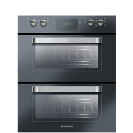 Hoover HDO707NX Electric Built-under Double Oven - Black