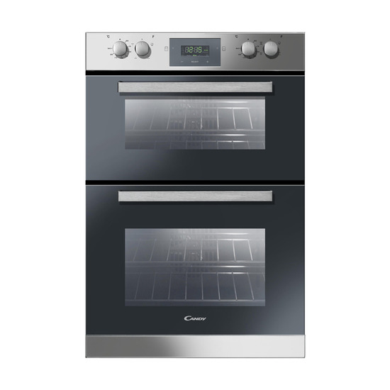 Candy FDP6109X Electric Double Oven - Stainless Steel