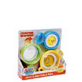 Fisher Price Brilliant Basics Stack & Nest Pots & Pans Reviews