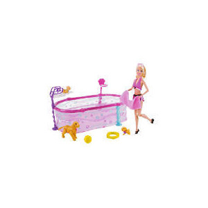 Photo of Barbie Swimming Puppy School Toy