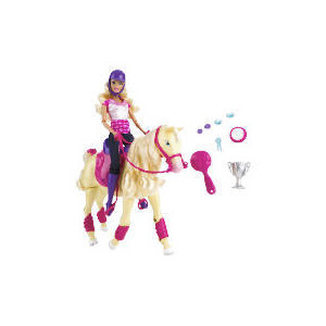 Photo of Barbie Tawny Horse & Doll Toy