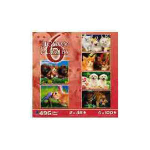 Photo of Kids 6 In 1 Puzzle Box Set Toy