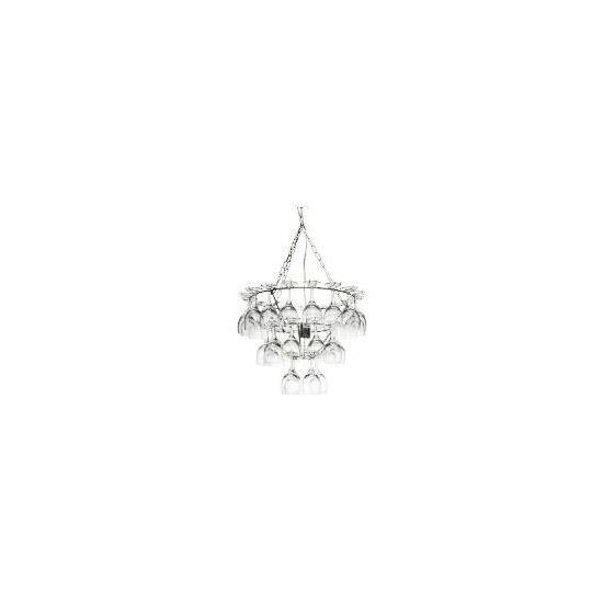 Luxuriance Vino glass chandelier