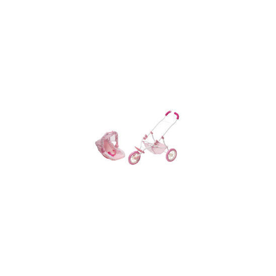 Baby Annabell 2 In 1 Travel System