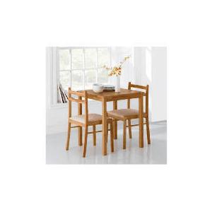 Photo of Dovecote Rubberwood 2 Seat Dining Set Furniture