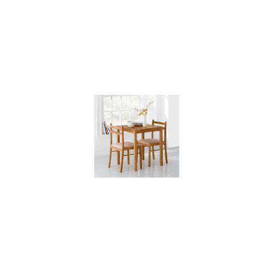 Dovecote Rubberwood 2 Seat Dining Set