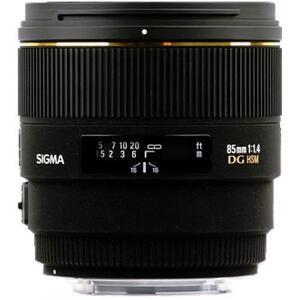 Photo of Sigma 85MM F/1.4 EX DG HSM (Nikon Mount) Lens