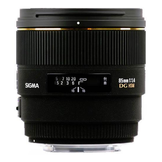 Sigma 85mm f/1.4 EX DG HSM (Nikon mount)