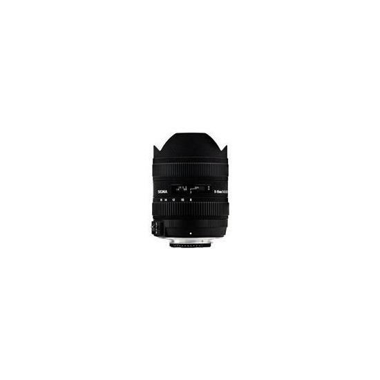 Sigma 8-16mm F4.5-5.6 DC HSM (Canon mount)