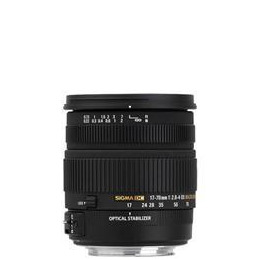 Sigma 17-70mm f2.8-4 DC OS Lens for Nikon AF Reviews