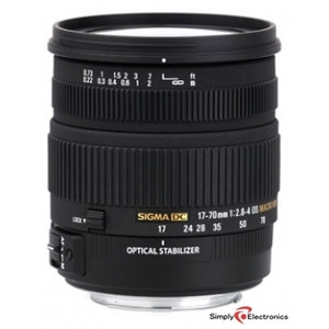 Photo of Sigma 17-70MM F2.8-4 DC Macro OS  Lens