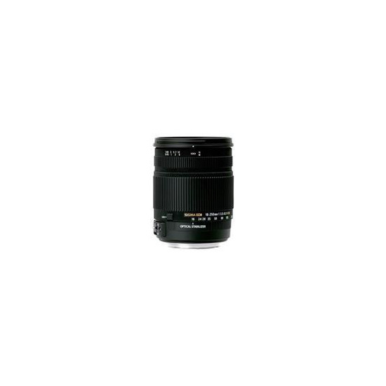 Sigma 18-250mm f3.5-6.3 DC OS Lens for Canon EF-S