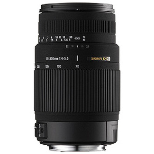 Photo of Sigma 70-300MM F/4-5.6 DG OS (Canon) Lens