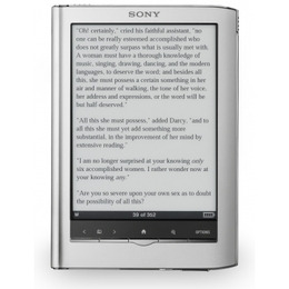 Sony Reader Touch PRS-650 Reviews