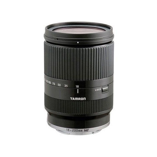 Tamron 18-200mm F/3.5-6.3 Di III VC Lens for Canon EOS M (Black)