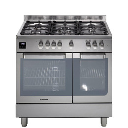 Hoover HGD9395IX Dual Fuel Range Cooker - Stainless Steel Reviews