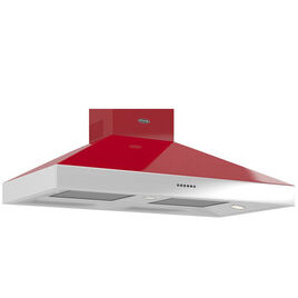 Britannia Latour TPBTH110GR Chimney Cooker Hood - Gloss Red