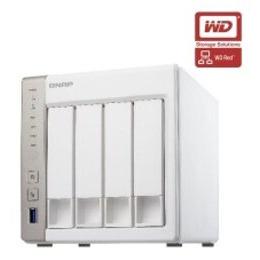QNAP TS-451 16TB (4 x 4TB WD RED) 4 Bay NAS