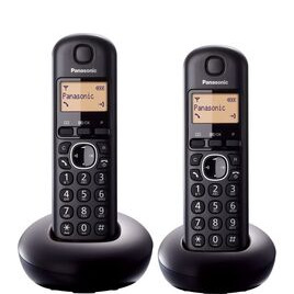 Panasonic KX-TGB212EB Cordless Phone - Twin Handsets Reviews