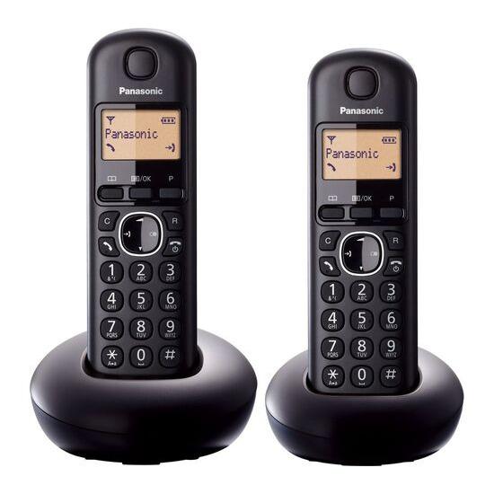 Panasonic KX-TGB212EB Cordless Phone - Twin Handsets