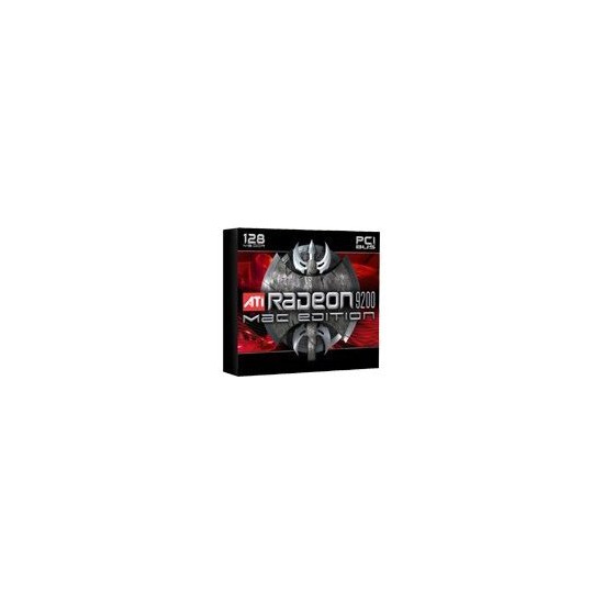 ATI RADEON 9200 MAC EDITION - Graphics adapter - Radeon 9200 - PCI - 128 MB DDR - Digital Visual Interface (DVI) - TV out