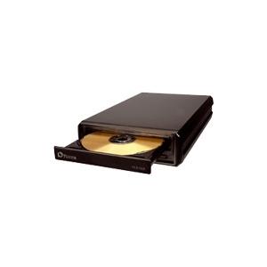 Photo of Plextor PX-810UF - Disk Drive - DVD±RW - External - Black DVD Rewriter Drive